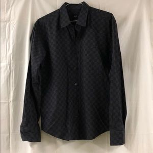 Hugo Boss men's dress shirt size L slim fit